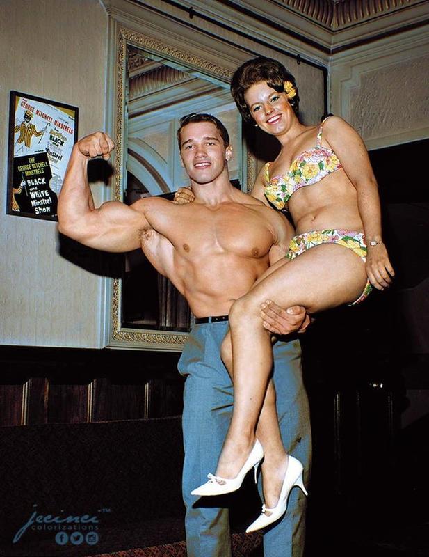 Arnold Schwarzenegger Young Childhood Photo