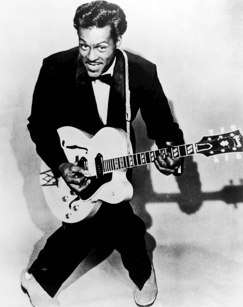 Chuck Berry Young Childhood Photo